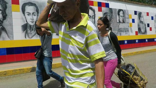 Fleeing Venezuela