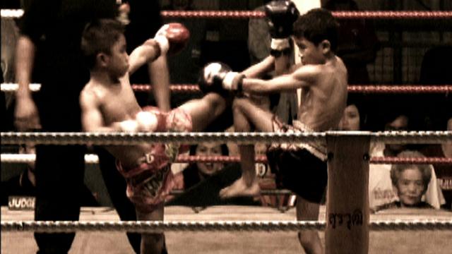 Child Kickboxers