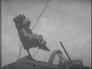 Thru Canopy Ejection Seat Trials