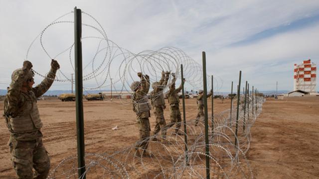 Straddling The Border