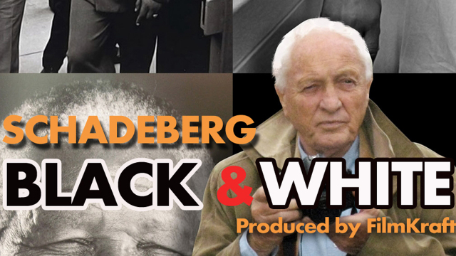 Schadeberg: BLACK-WHITE