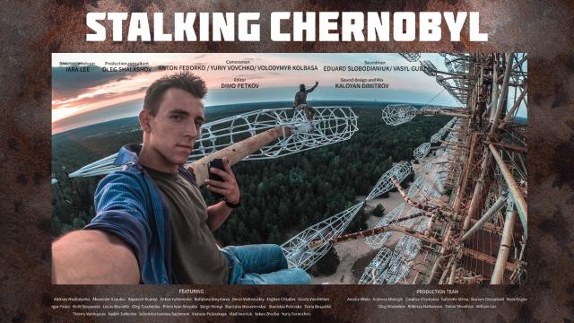 Stalking Chernobyl: exploration after apocalypse
