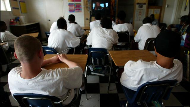 Incarcerated Teens