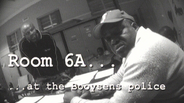 Room 6A at the Booysens Police