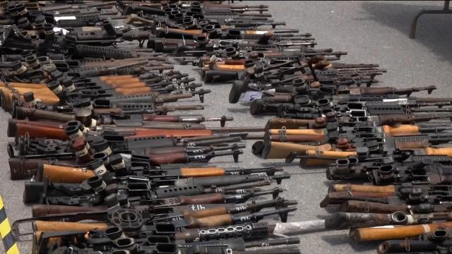 America's Guns Arming Mexico's Cartels