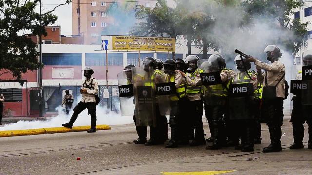 Powderkeg Venezuela