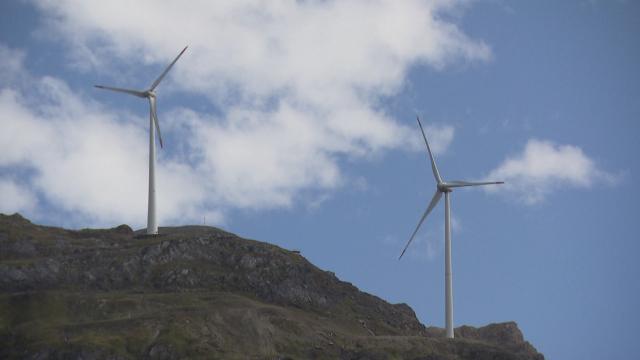 Wind Turbines : Selling the Wind