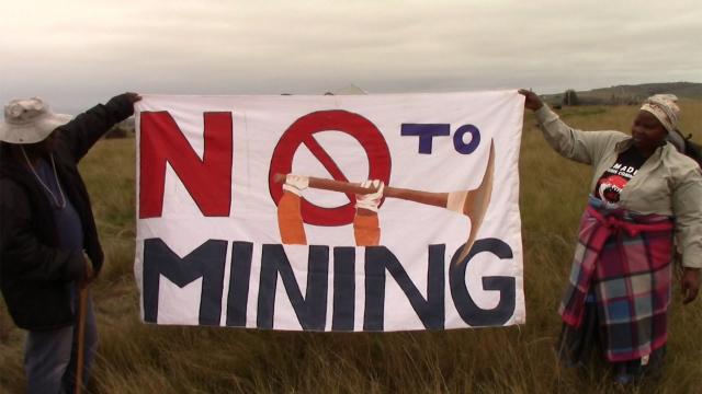 The Mpondo vs The Mine