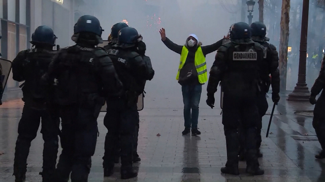 Ingrid and the Yellow Vests