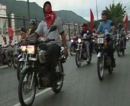 The Comandante's Bikers