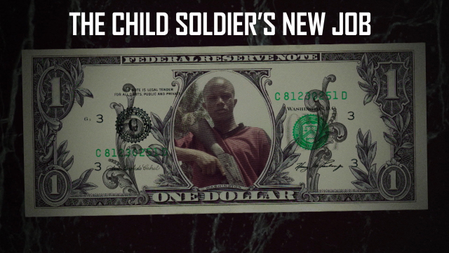The Child Soldier's New Job